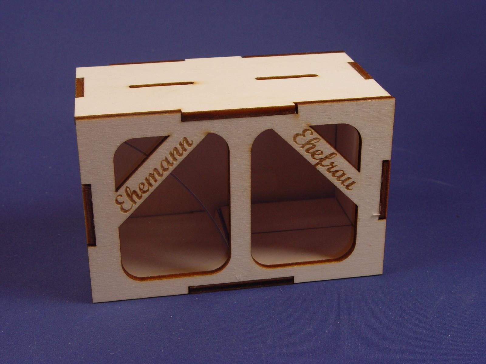 cnc monkey spardose hochzeit ehemann ehefrau. Black Bedroom Furniture Sets. Home Design Ideas
