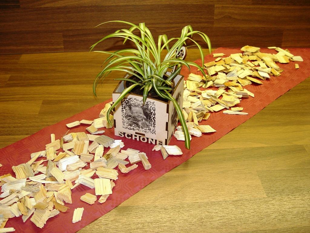 Cnc Monkey Tischdeko Streudeko X Cut Streudeko Aus Holz
